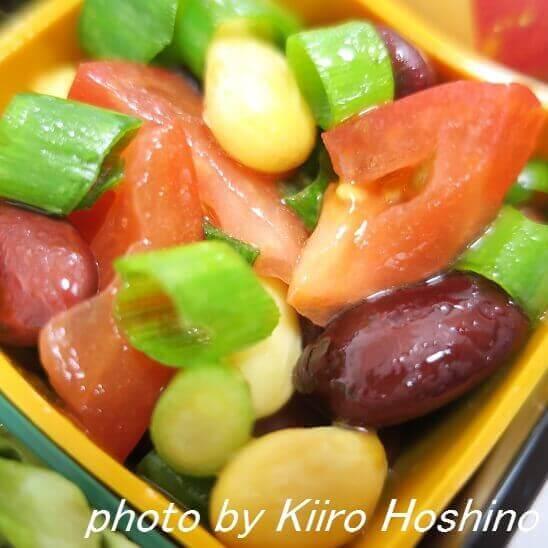 蒸し豆サラダ
