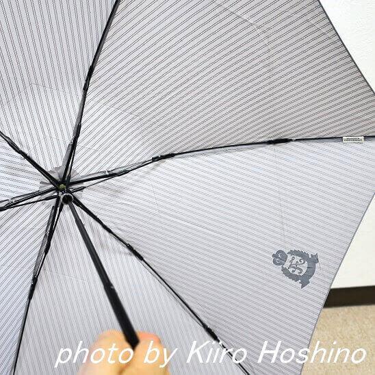 afternoon tea 折りたたみ傘、骨