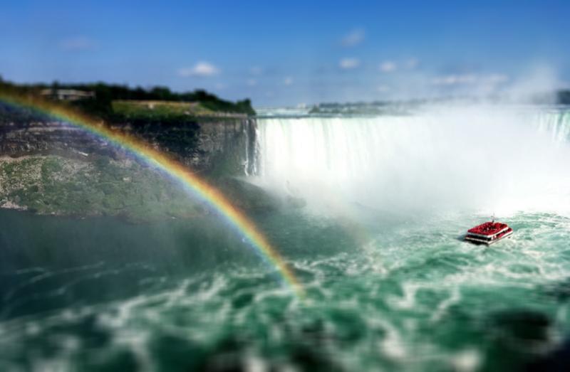 ナイアガラの滝の写真