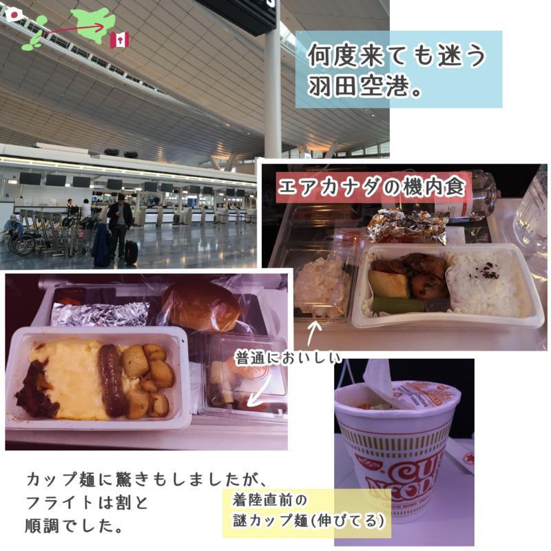 羽田空港からトロント・ピアソン国際空港へ