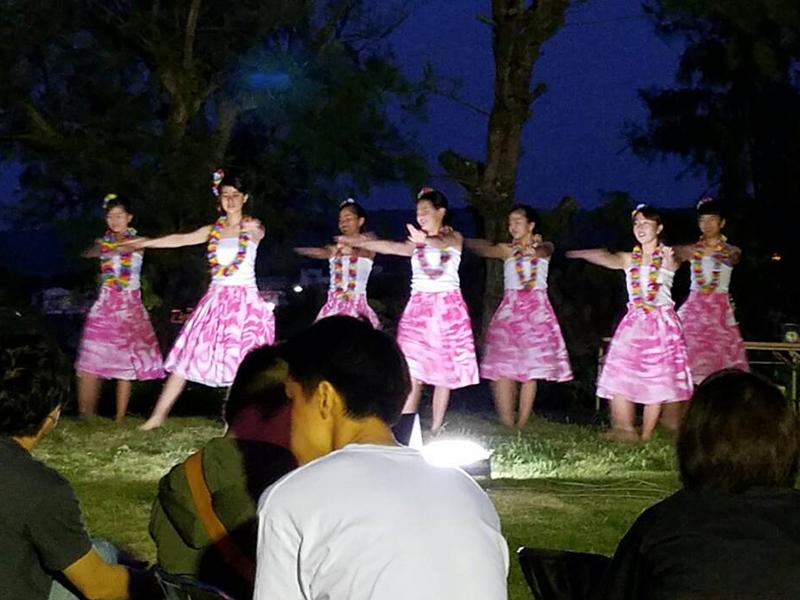 喜界島マラソン 後夜祭 フラダンス
