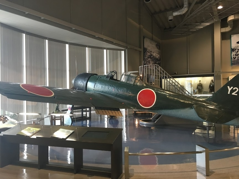 筑前町「大刀洗平和記念館」の零戦(零式艦上戦闘機)
