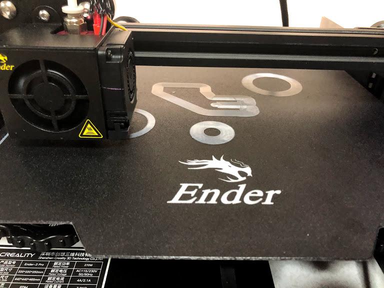 3Dプリンター ender3