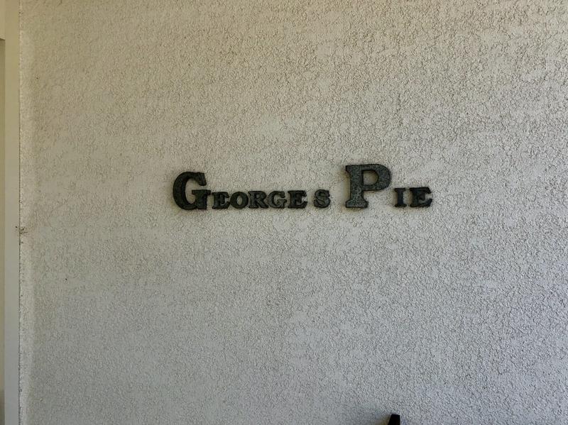パイがメインのランチ ジョージズ パイ (George's Pie )