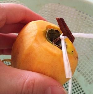 干し柿 作り方 ビニール紐 結び方