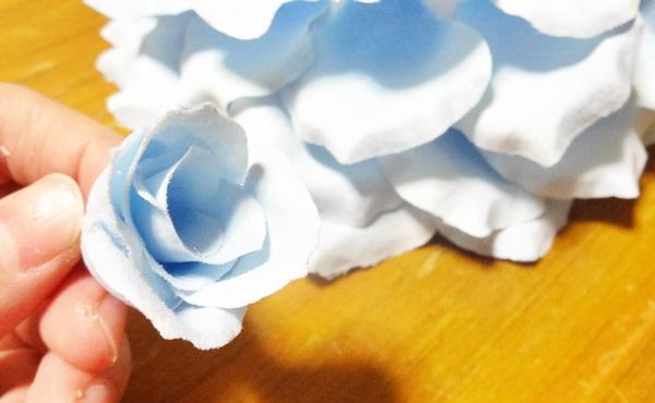 大輪ローズ リングピロー 手作りキット バラ 難しい