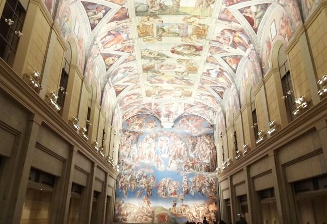 大塚国際美術館 ミケランジェロ システィーナ礼拝堂
