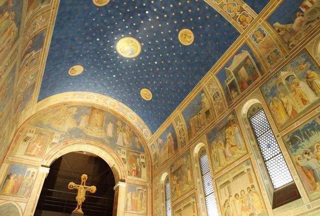 大塚国際美術館 スクロヴィーニ礼拝堂 天井画 壁画