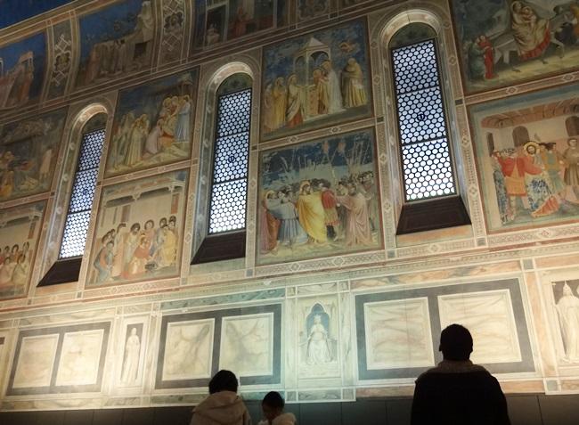 大塚国際美術館 スクロヴィーニ礼拝堂 壁画