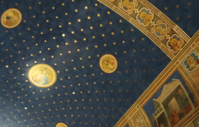 大塚国際美術館 スクロヴィーニ礼拝堂 天井画