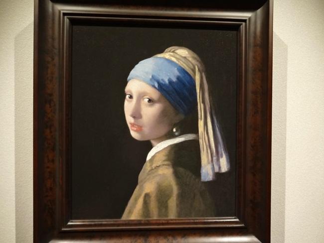大塚国際美術館 フェルメール 真珠の耳飾りの少女