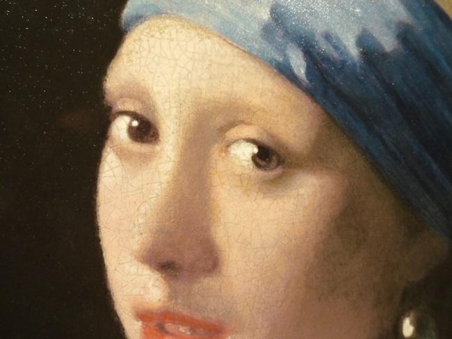 大塚国際美術館 フェルメール 真珠の耳飾りの少女 唇 瞳