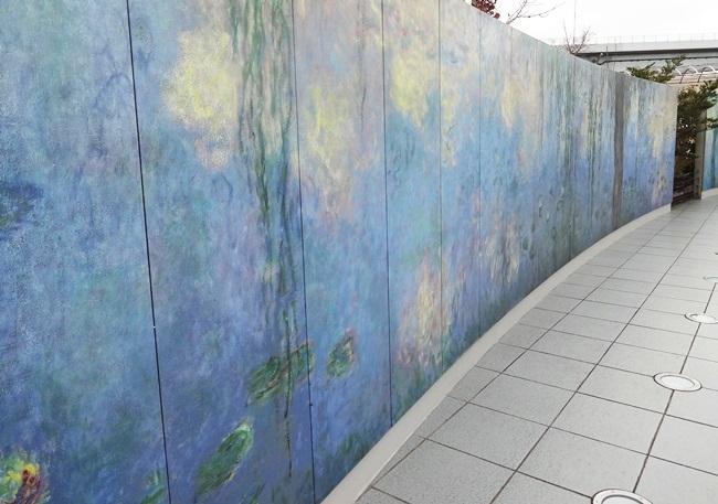 大塚国際美術館 モネ 大睡蓮 陶板 自然光
