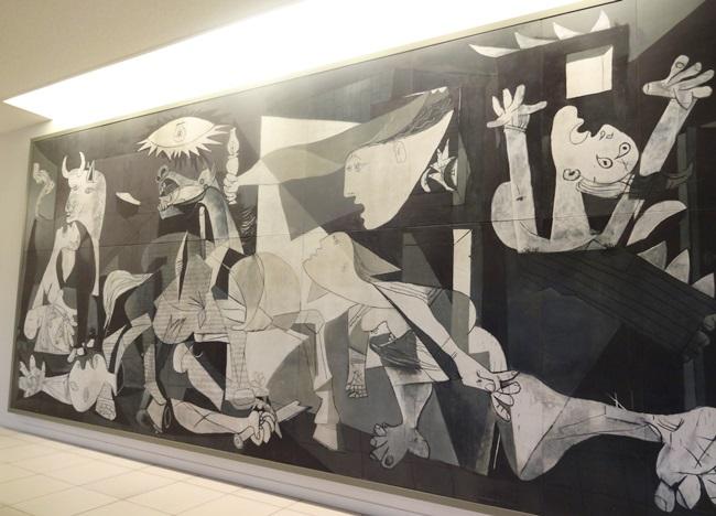 大塚国際美術館 ピカソ ゲルニカ