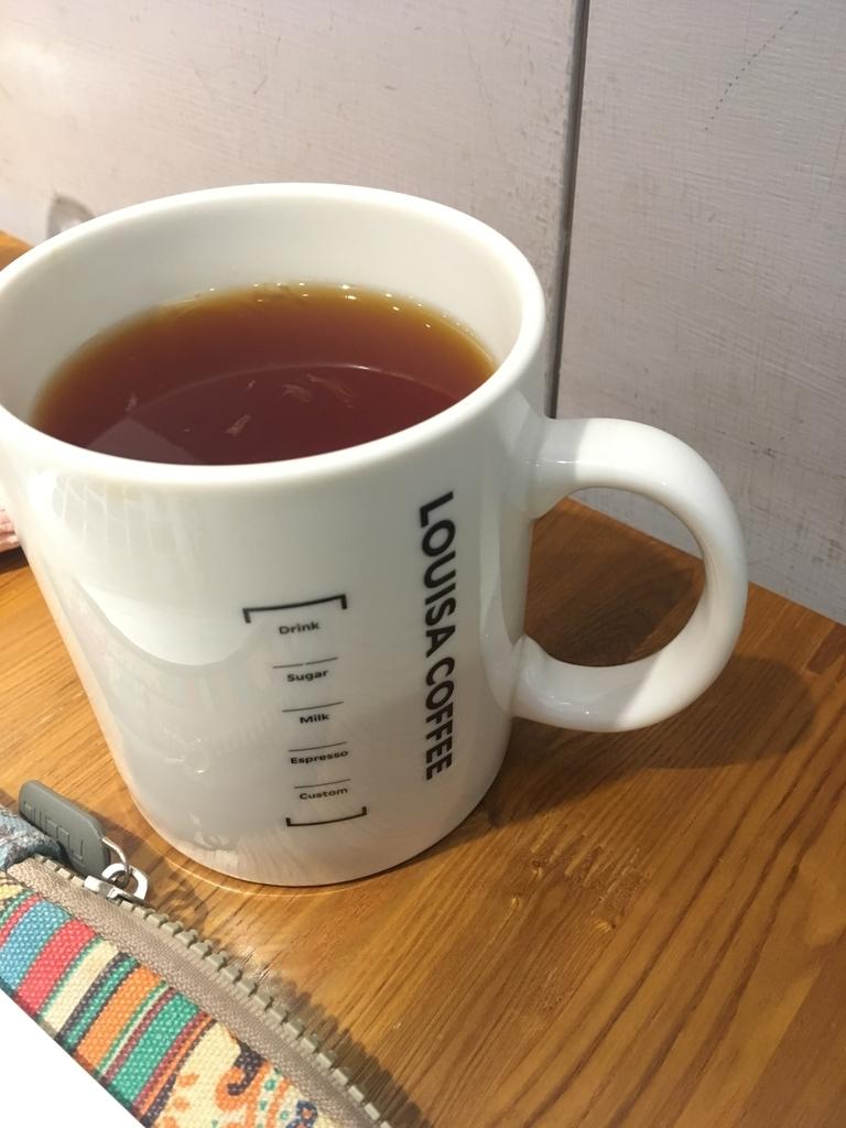お茶が入ったカップ