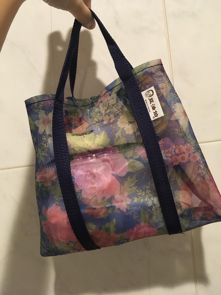 花柄のおばあちゃんバッグ