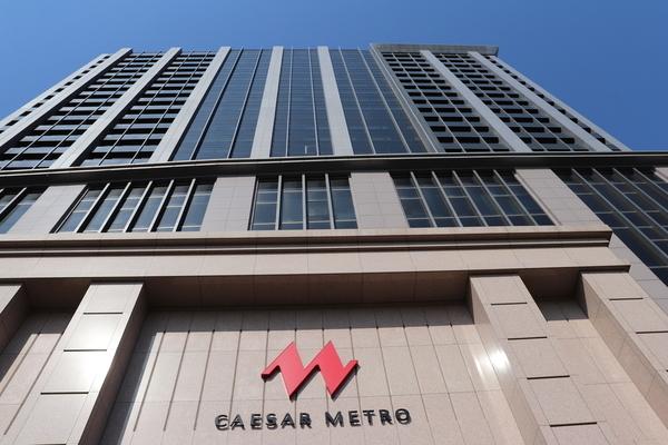 台北のCAESAR METROホテル