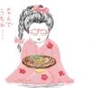 はてなハイカーさん、京都っぽい浴衣眼鏡おさげっ娘のイラスト欲しい