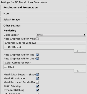 Unity: Macでジオメトリーシェーダーを使ったプロジェクトを動作させたい