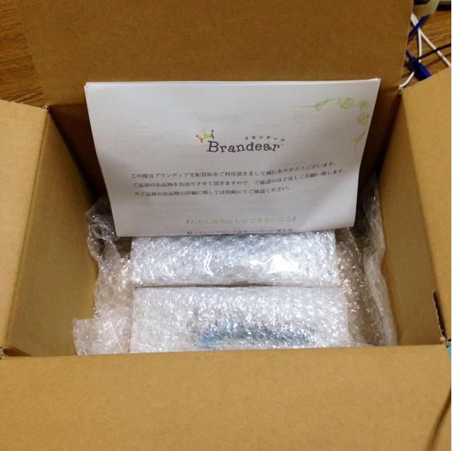 ブランディアから返送されてきた商品