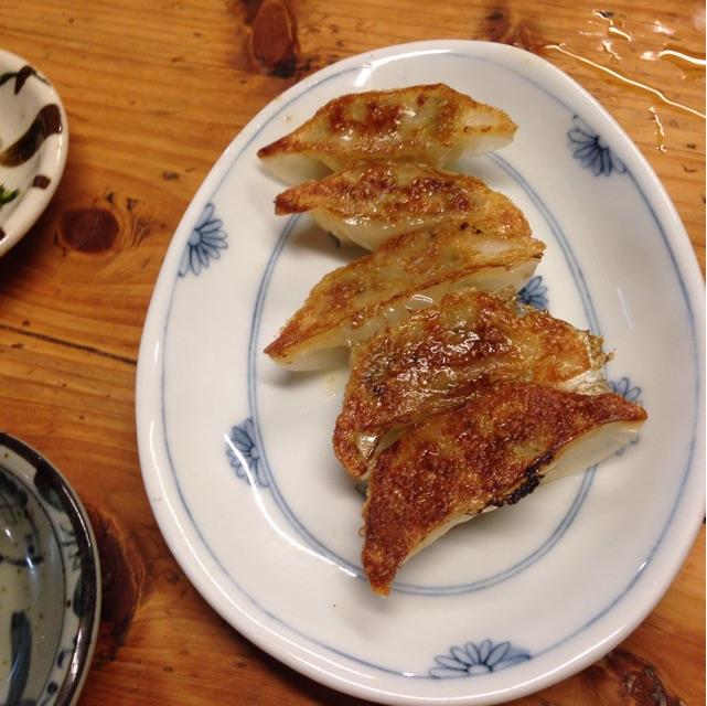大砲ラーメン餃子