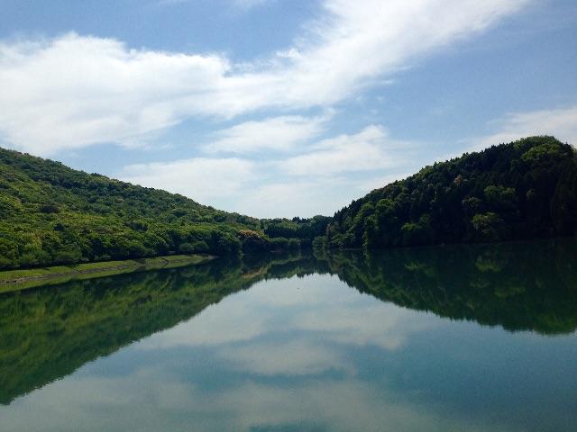 水面 阿蘇 湖