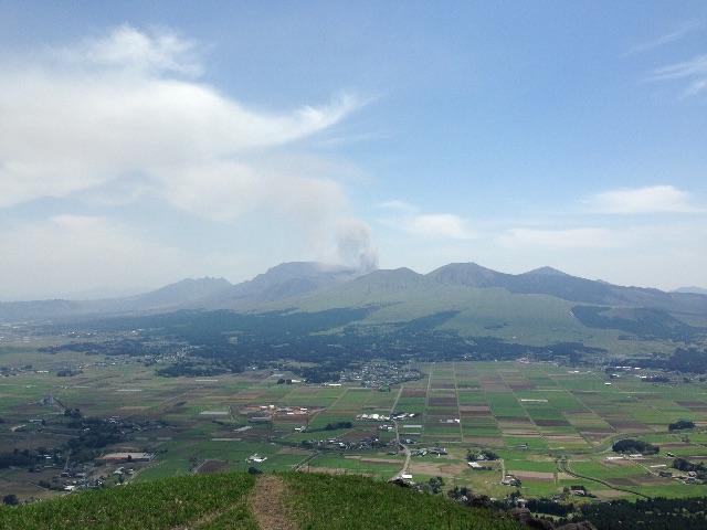 阿蘇山 全貌