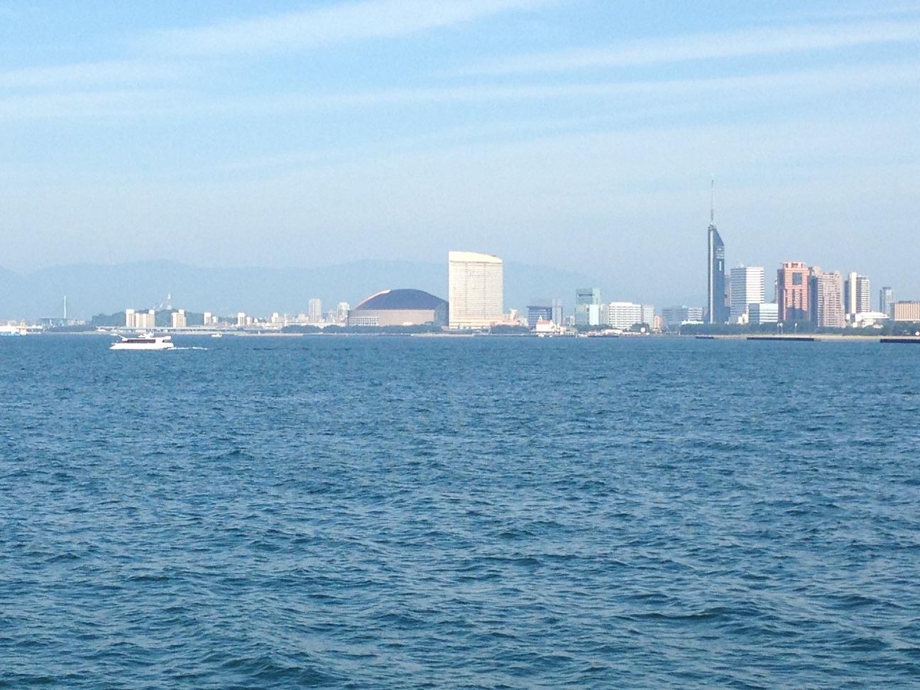 百道浜のビル群