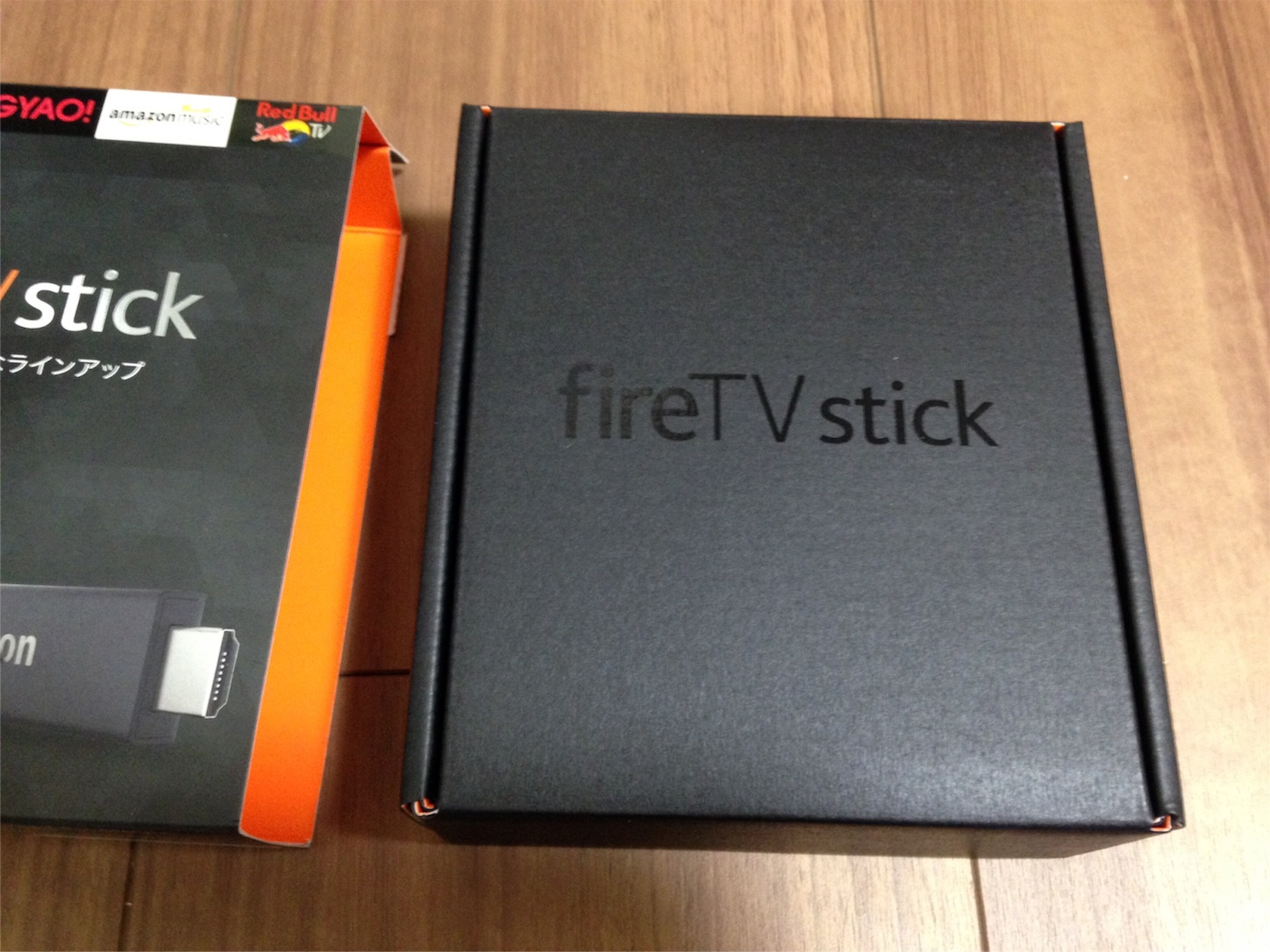 Amazon fire TV stick中箱