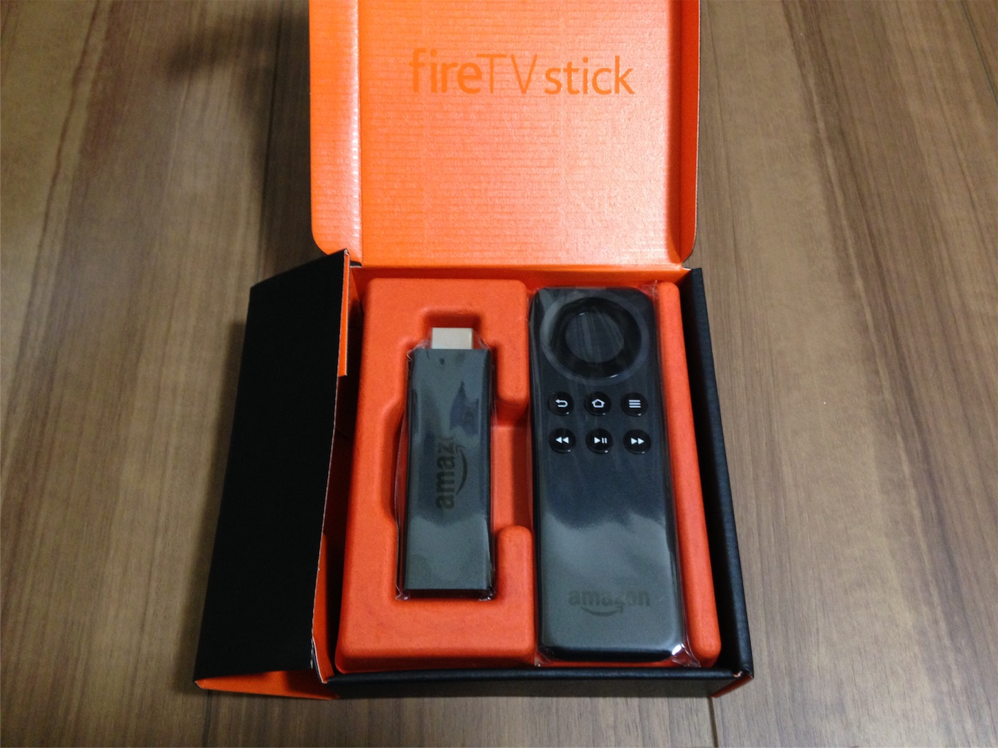 Amazon fire TV stick中身