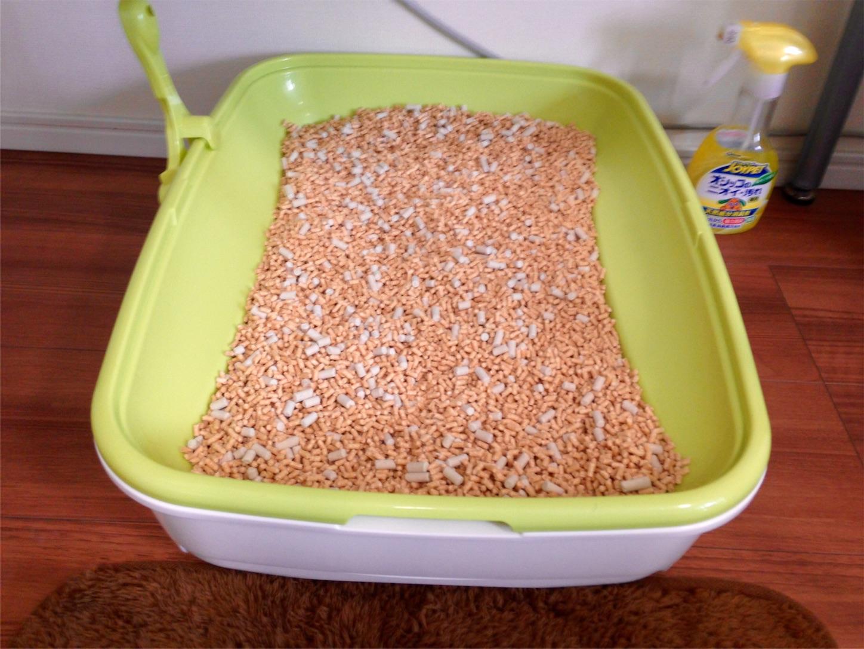 猫トイレ ニャンとも清潔 極小の砂 チップ