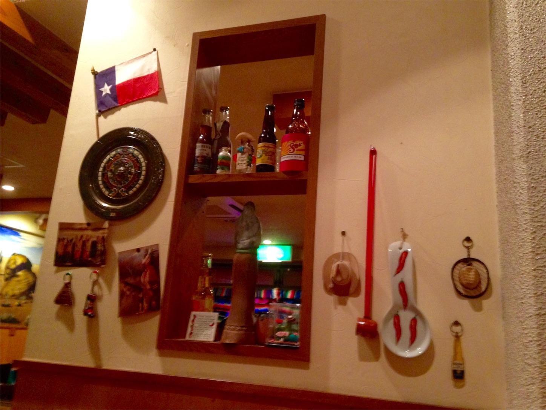 チリ・ジョー内装 壁