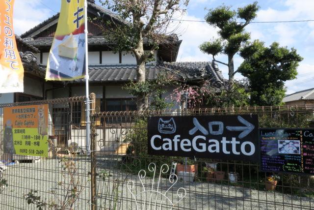 古民家保護猫カフェ Cafe Gatto外観