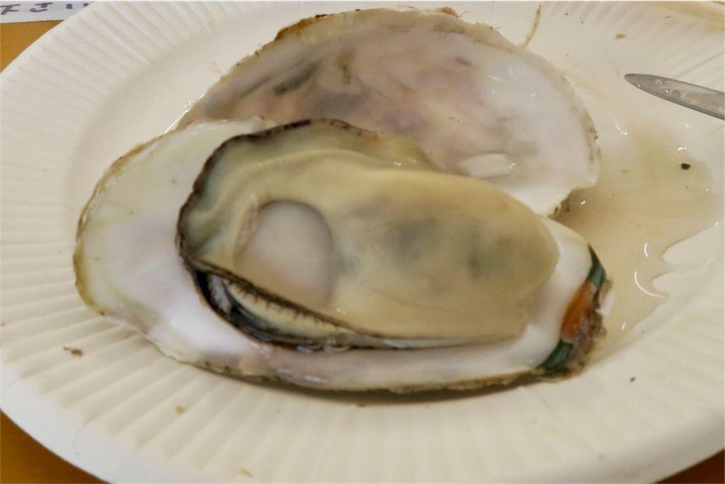 牡蠣 殻と身