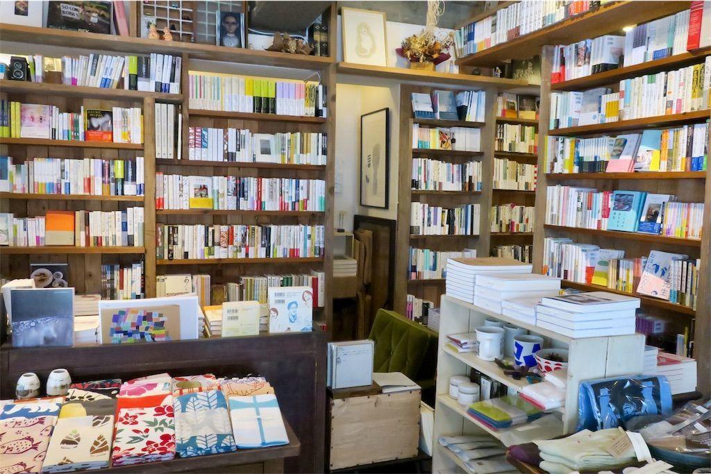 橙書店の本棚