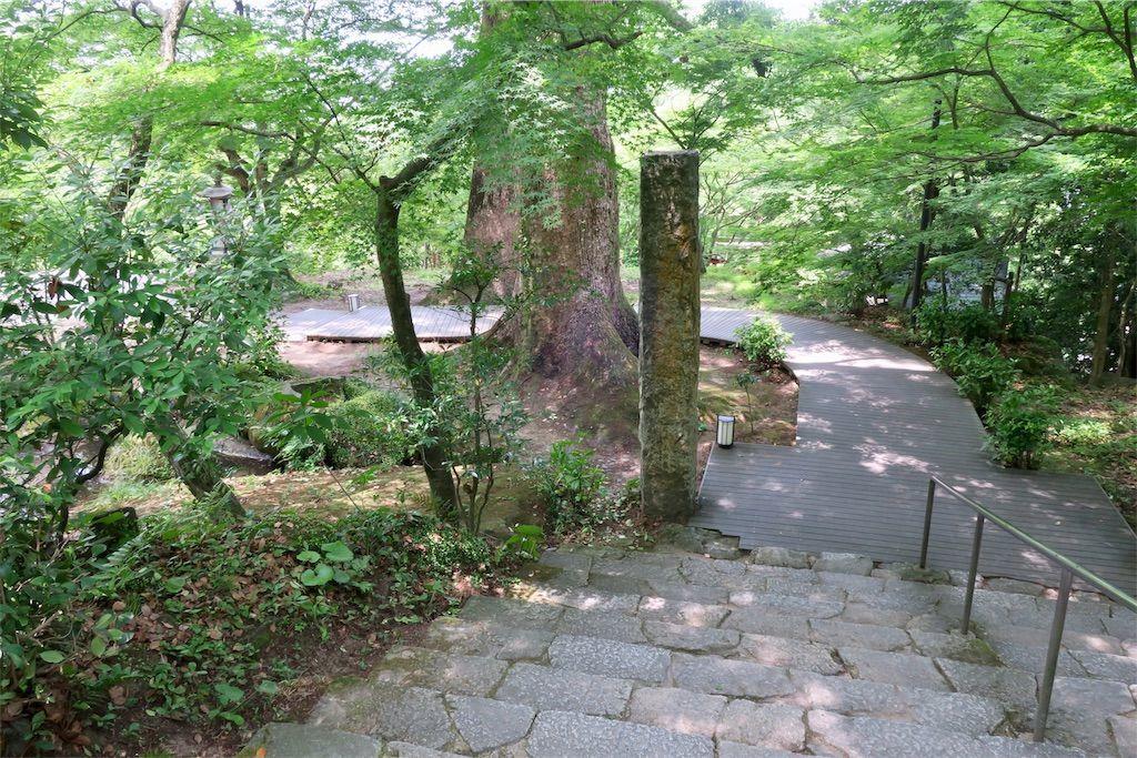 竈門神社の参道