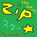 [オリジナル][mixi]mixi3代目ZIPスター文字絵