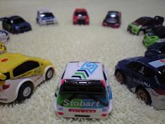 ワンダWRC Rally Japan公認プルバックカーコレクション