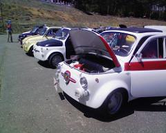 Fiat500もいっぱい
