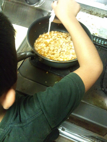 男の料理:ジャージャー麺もどき