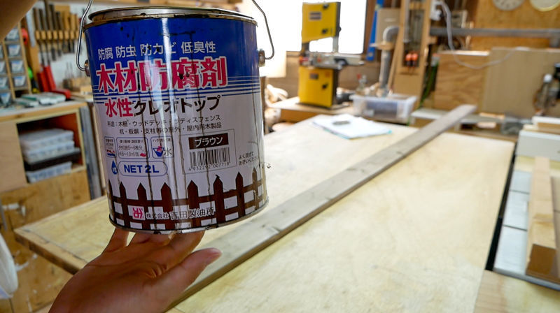 水性クレオトップ木材防腐剤
