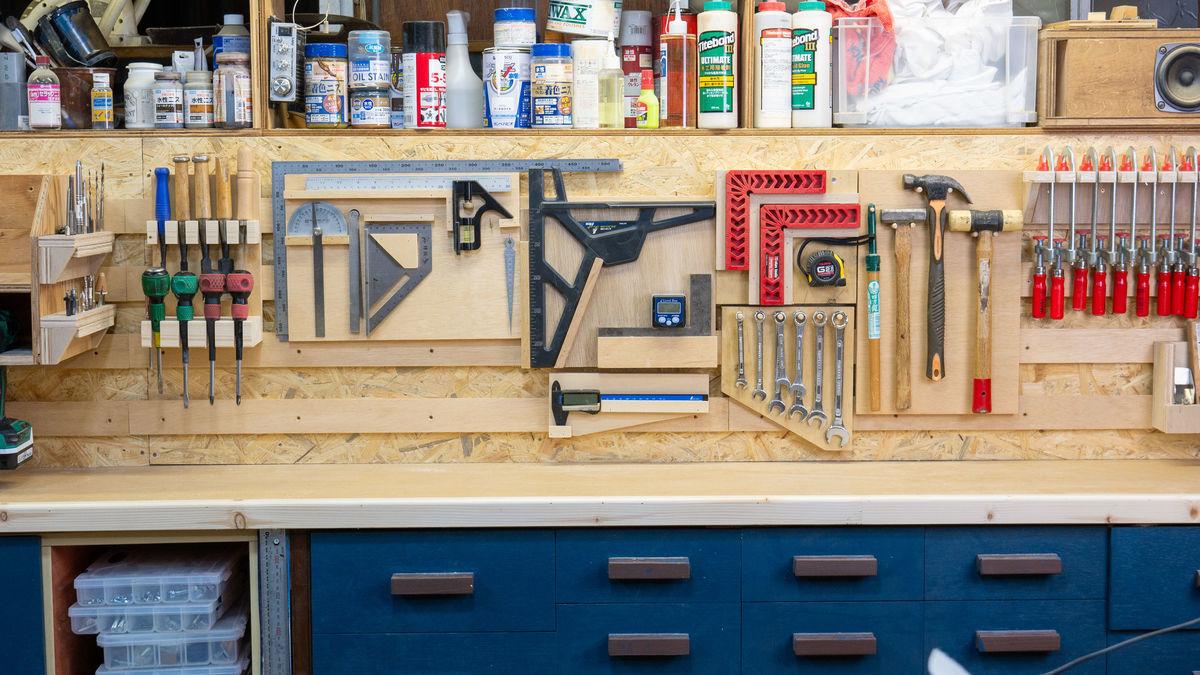 これ知ってる?オススメの工具壁掛け収納術!フレンチクリート