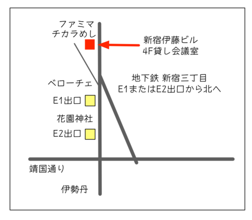 新宿伊藤ビルの地図