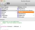 Objective-C Protocol definition on OS X 10.9 Mavericks