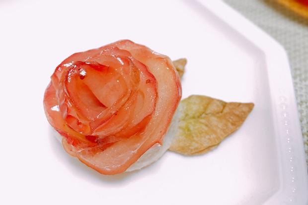 薔薇のアップルパイ1個のカロリー