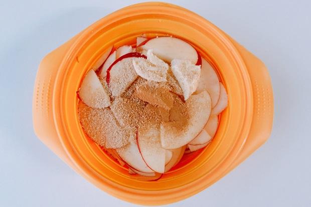 薔薇のアップルパイの作り方