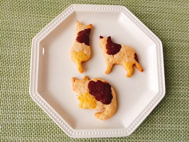 三毛猫ジンジャークッキー簡単レシピ
