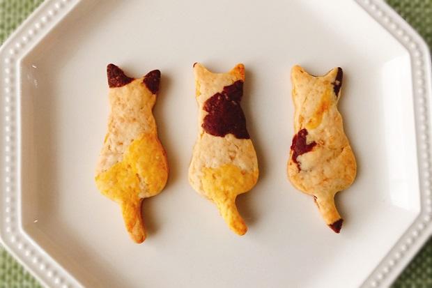 三毛猫ジンジャークッキー