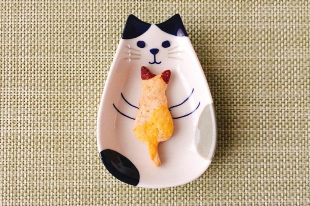三毛猫ジンジャークッキーレシピ