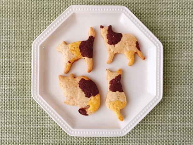 三毛猫のジンジャークッキーレシピ